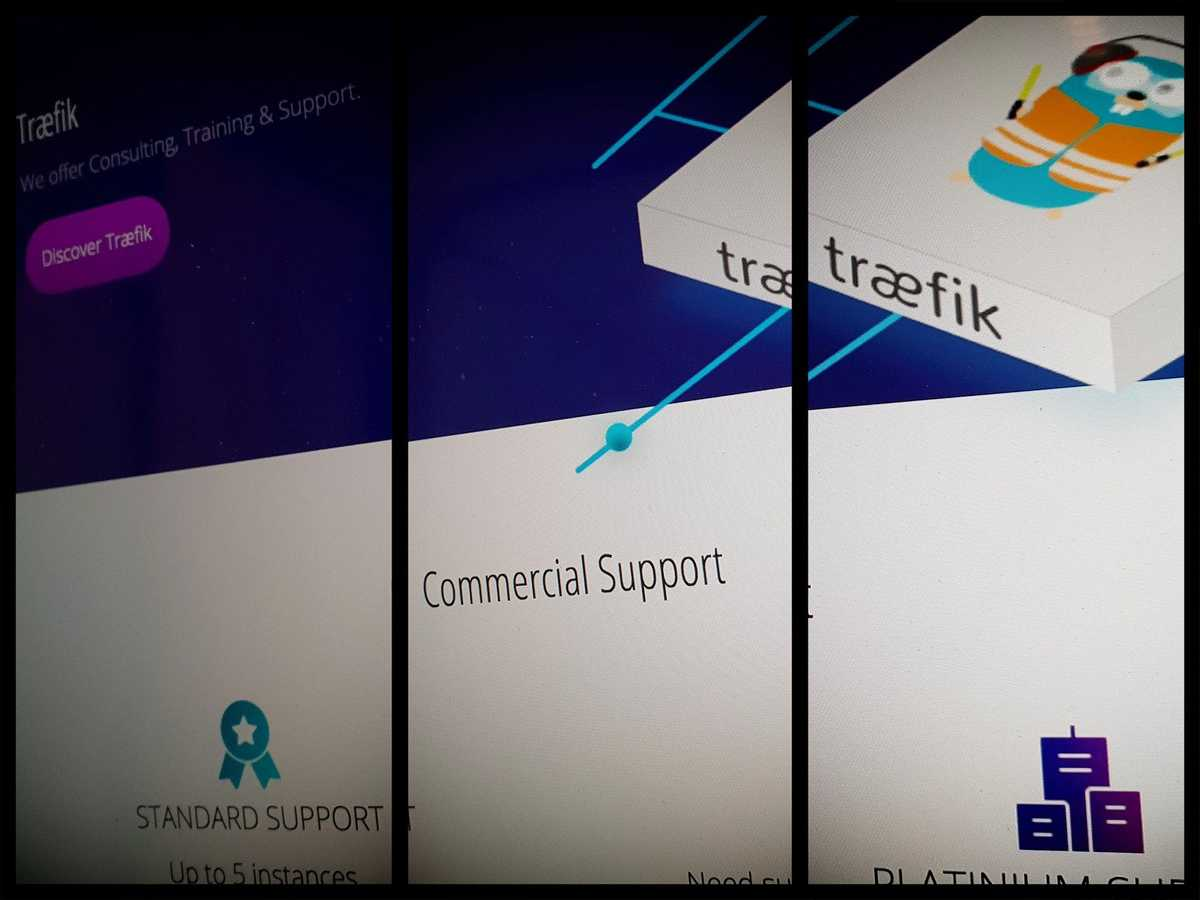 Traefik — Commercial Support Is Coming!
